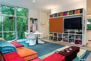 Idée Rangement Salle De Jeux : salle de jeux with moderne chambre d enfant d coration ~ Zukunftsfamilie.com Idées de Décoration