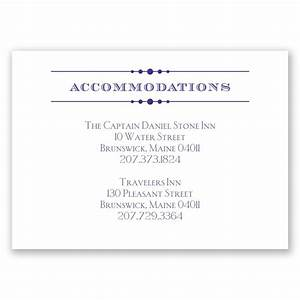 vintage type accommodations card invitations by dawn With examples of wedding accommodation cards