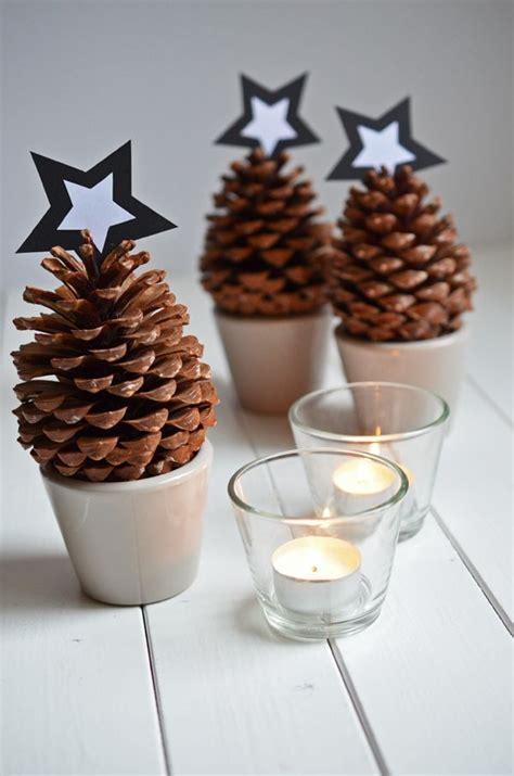 basteln mit tannenzapfen weihnachten die besten 25 weihnachtlich basteln mit naturmaterialien