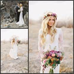 boho wedding dress shop 2016 sheath bohemian style lace sleeves wedding dresses boho bridal wedding gowns jpg