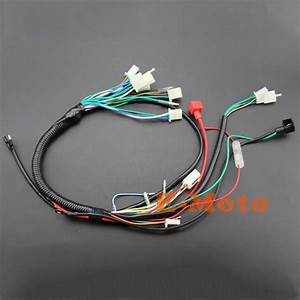Full Electrics Wiring Harness Coil Cdi Spark Plug Kits For
