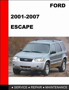 Free 2008 Ford Escape Workshop Service Repair Manual Pdf