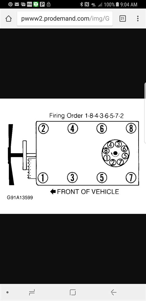 Commoner Firing Order Vs Diagram (s): I've Seen Two