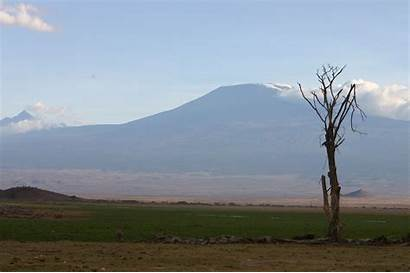 Africa Mountain Highest Kenya Mount Second African