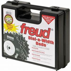 Freud SD608 8-Inch Dial-A-Width Stacked Dado Set 5/8-Inch