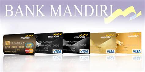 kartu kredit mandiri  melancarkan transaksi