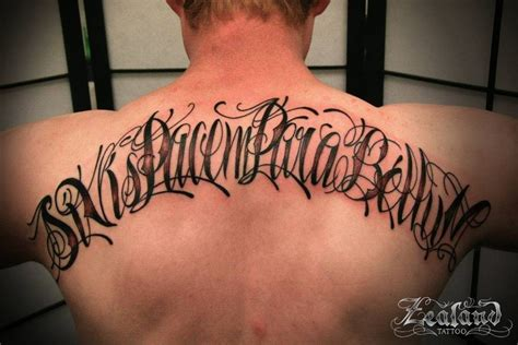 lettering tattoo gallery zealand tattoo