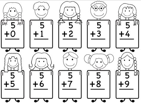 kindergarten worksheets math additionndergarten worksheet