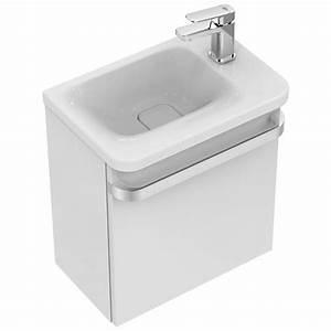 Ideal Standard Tonic : ideal standard tonic ii waschtisch unterschrank 45 cm f r handwaschbecken ablage rechts r4306wg ~ Orissabook.com Haus und Dekorationen