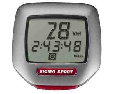 Compteur De Vitesse Sigma Sport Bc 500