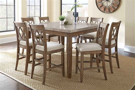 9 dining room table homelegance havre 7 piece 54x54 glass top dining room set