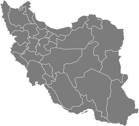 Free Blank Iran Map in SVG - Resources | Simplemaps.com
