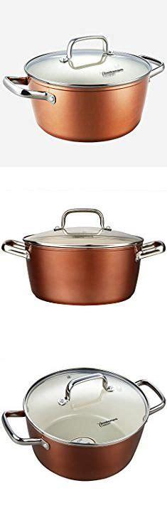 masterclass premium cookware pots  pans set cooksmark ceramic cookware set copper finish
