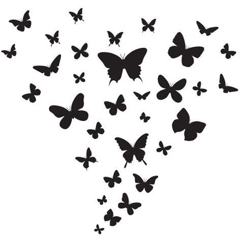 stickers pour cuisine stickers envol de papillons stickmywall