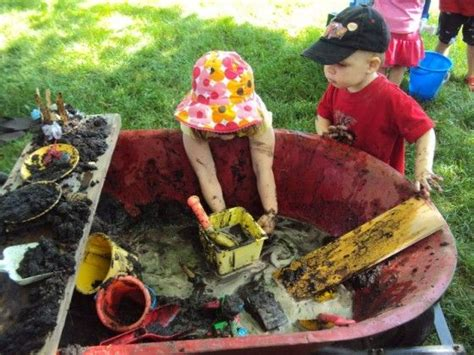 How To Cover Up Mud In Backyard by Mud Play Ideas Happy Hooligans Mobile Mud Pit In A