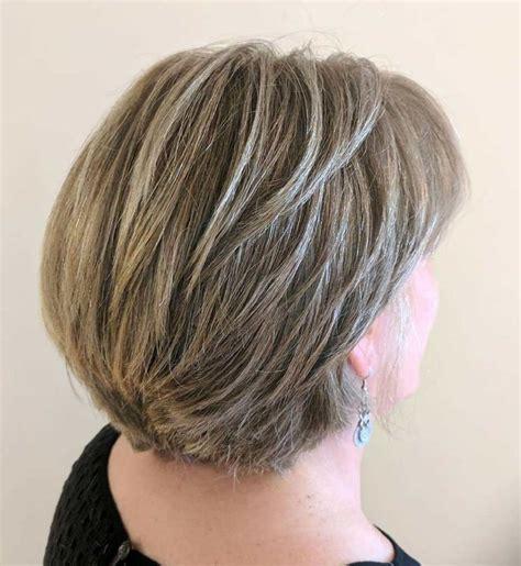 gorgeous gray hair styles   hairstyles cortes