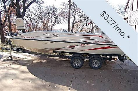 Suncruiser Deck Boat by 2007 Used Lowe 224 Suncruiser Tahiti Deck Boat For Sale