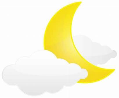 Moon Clouds Transparent Clip Clipart Sun Stars