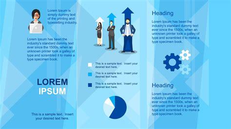 Powerpoint Brochure Templates Business Brochure Powerpoint Template Slidemodel