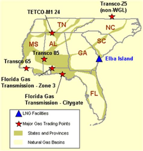 etrm systems  gas markets