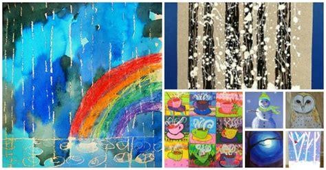 celebrate winter art projects  kids