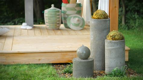 how to make a garden water feature how to build kinds of diy water fountain