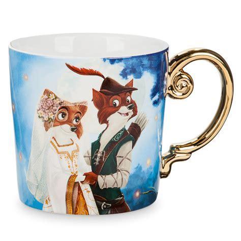 Disney Coffee Cup Mug   Robin Hood