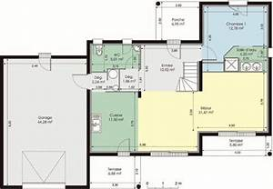 maison meridionale detail du plan de maison meridionale With plan maison entree sud 4 1 les plans de la future maison