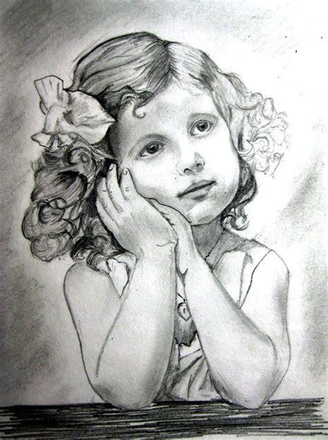 pencil sketch girl drawings art gallery