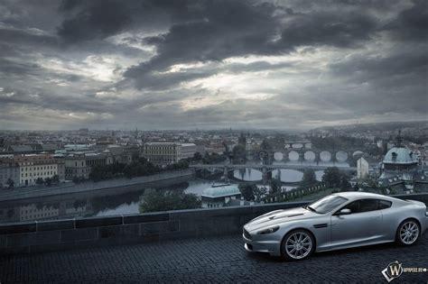 Скачать обои Aston Martin DB9 (Aston Martin DB9, Спорткар, Aston Martin DBS, Прага) для рабочего ...