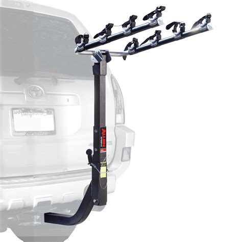 allen hitch bike rack allen 645rr premium reciever hitch rack xl 4 bikes