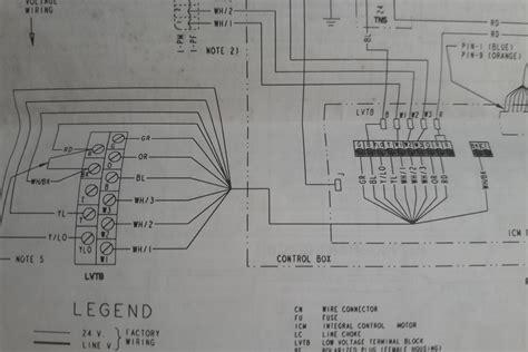 hvac converting from a trane xt500c ac thermostat to honeywell tb8220u1003 visionpro 8000