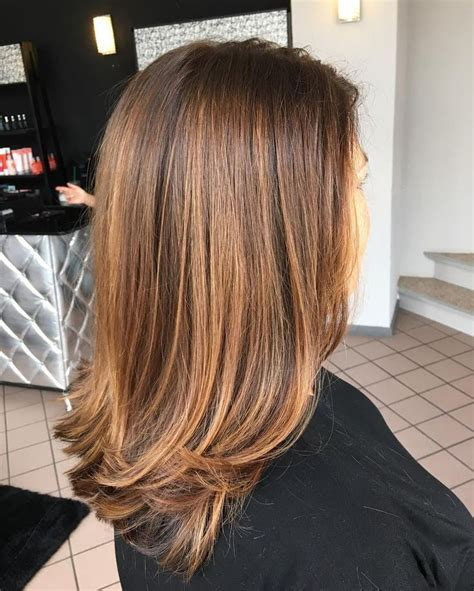 Hairstyles With And Brown Highlights by Image Result For Medium Brown Hair With Highlights Hair