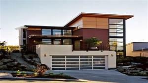 Modern, Home, Design, Exterior, Modern, Tropical, House, Design
