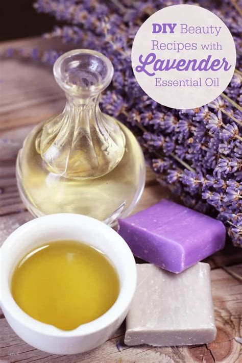diy beauty recipes  lavender essential oil simply stacie