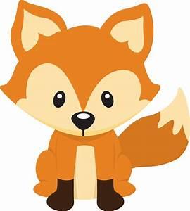Cute Fox clipart - Animals clip art - DownloadClipart.org