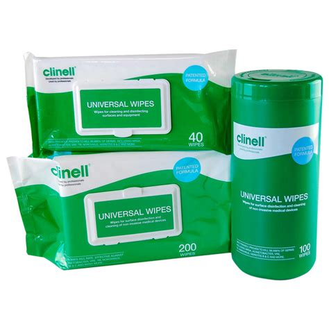 wipes clinell universal sanitising