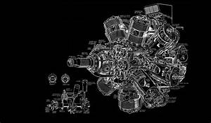 Wallpaper   Illustration  Airplane  Gears  Engines