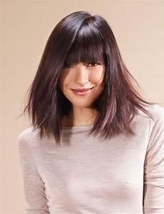 Coupe Carré Effilé Mi Long : cheveux mi longs nos id es de coupes oser femme actuelle ~ Melissatoandfro.com Idées de Décoration
