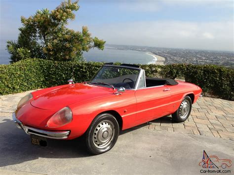 The Graduate Alfa Romeo by 1967 Alfa Romeo Duetto 1600 Boat Spider Convertible