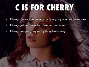 Quotes From The Outsiders Cherry. QuotesGram