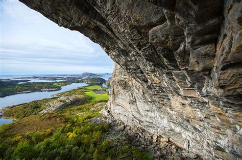 sport climbing flatanger norway mountain hardwear