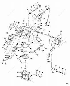 Evinrude 1974 40 - 40454s  Carburetor