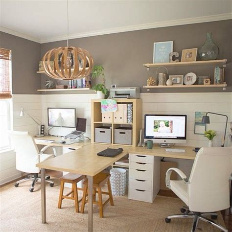 Ideas For Office At Work by Two Person Desk Design For Your Wonderful Home Office Area