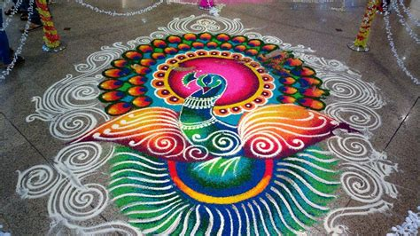 simple rangoli design special  diwali