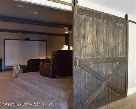 Adding Privacy With Barn Doors