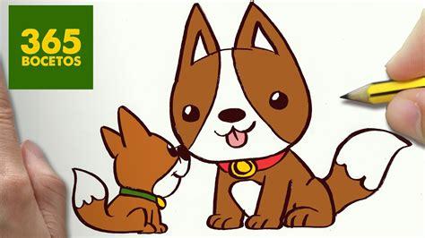 como dibujar perritos kawaii paso a paso os ense 241 amos a