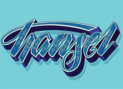 Gemma O Brien Cool lettering Types of lettering