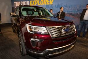2018 Ford Explorer Colors