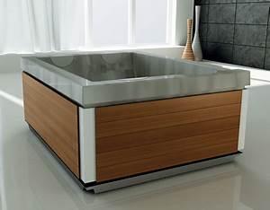 Freistehende Whirlpool Badewanne : 19 badewannen mit modernem design und zahlreichen funktionen ~ Indierocktalk.com Haus und Dekorationen